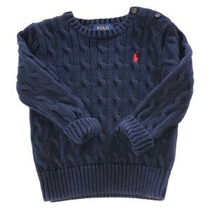 Polo Ralph Lauren Cable Knit Sweater Size 24M